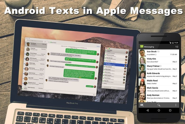 How to Send and Receive iMessage on Android Phone | Slashdigit