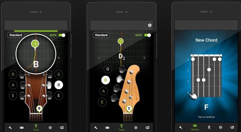 10 best guitar tuner apps 2019 slashdigit. Black Bedroom Furniture Sets. Home Design Ideas