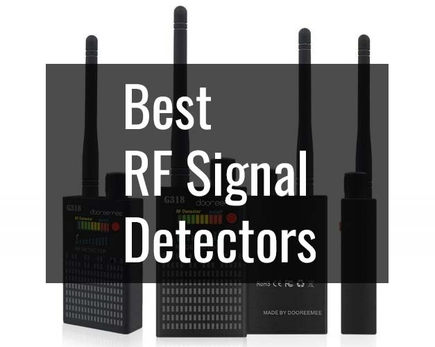 10 Best RF Signal/Bug/Hidden Camera Detectors (2019