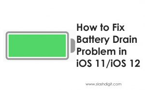 how to fix drain battery on iphone
