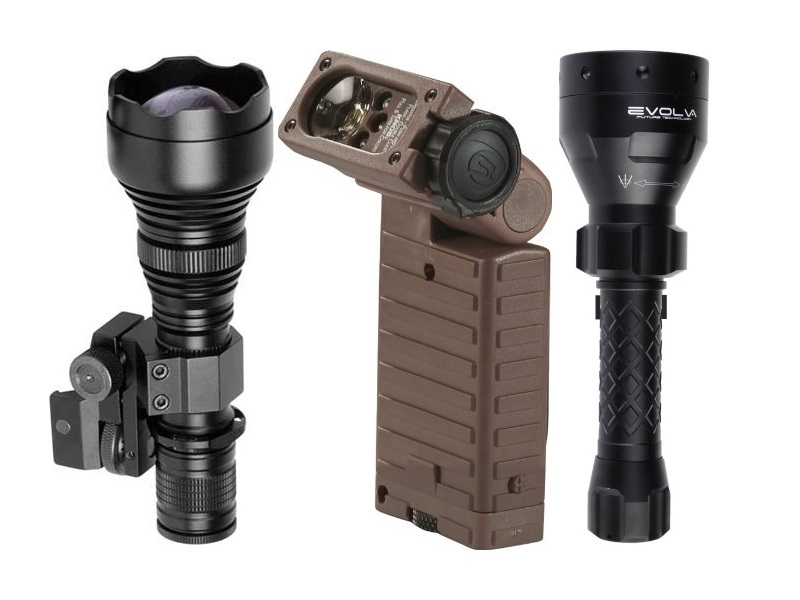 Streamlight Super TAC X Flashlight w// Holster High Power Infrared Led Light NEW