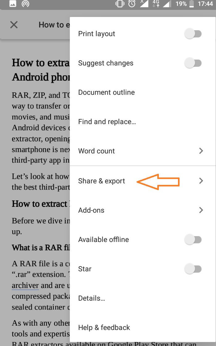 How to Convert and Save Google Doc as PDF on PC and Mobile | Slashdigit