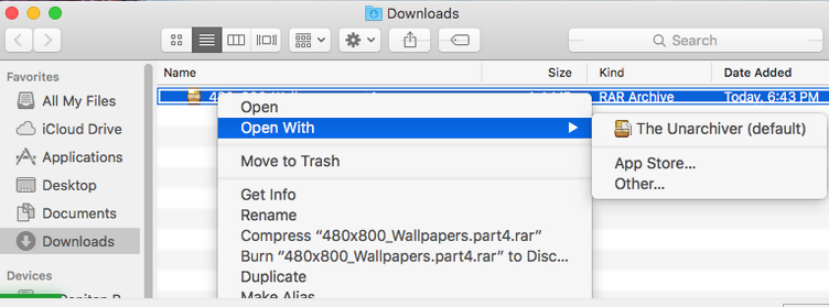 Rar File Mac