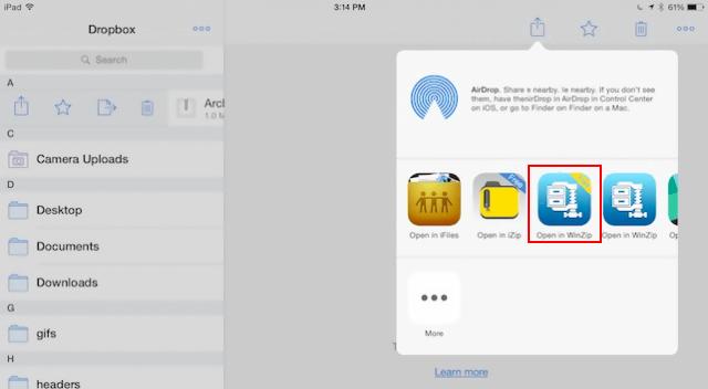 How to open RAR, ZIP or TGZ files on iPhone/iPad | Slashdigit