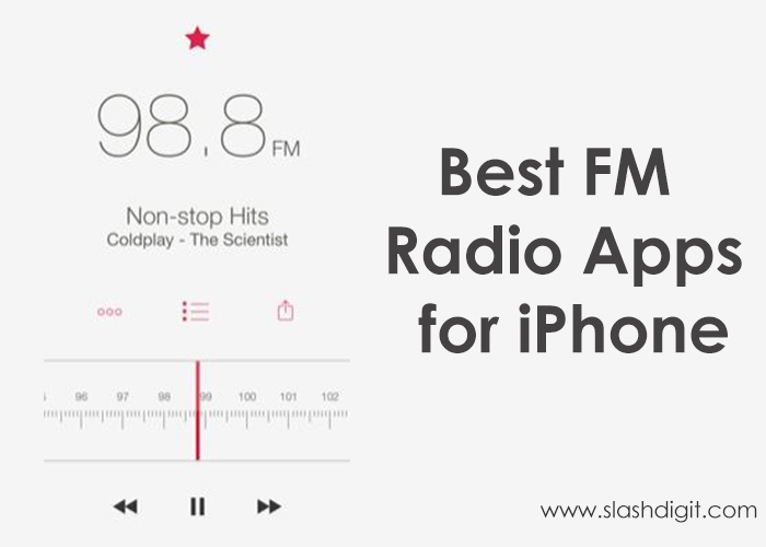 10 Best Fm Radio Apps For Iphone In 2021 Slashdigit